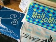 Cushions and Tea Towels