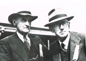 Great uncle Hugh Bourke & Mr Ridgeway