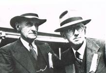 Great uncle Hugh Bourke & Mr Ridgeway